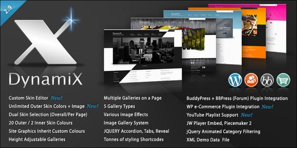 DynamiX-企业主题