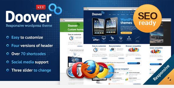 高级wordpress企业主题Doover更新至V2.1.1