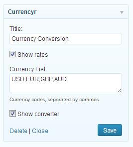 货币转换工具