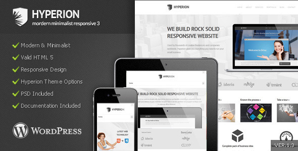 wordpress Hyperion