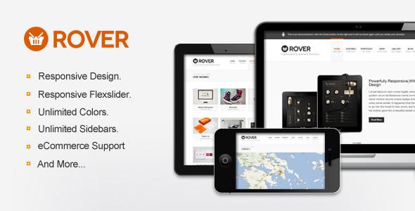 wordpress多功能主题Rover:适合企业和电商