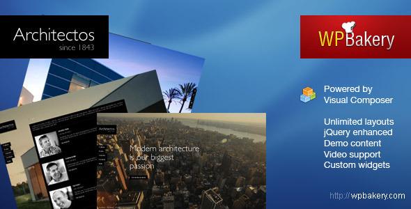 Architectos v1.6-博客和作品展示wordpress主题