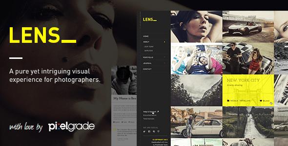 LENS v1.25-适合摄影图片WordPress图片主题