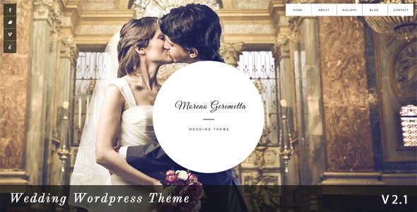Moreno v1.4-自适性的婚庆WordPress主题