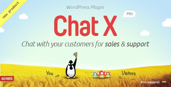 Chat X – WordPress销售与支持在线客服插件