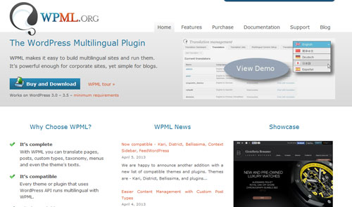 wordpress多语言插件wpml下载 v3.1.5