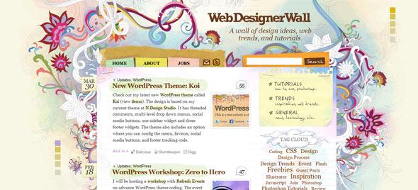 WordPress tutorials webdesignwall