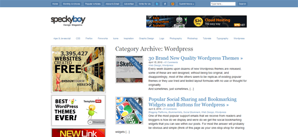 Wordpress tutorials Speckyboy Design Magazine