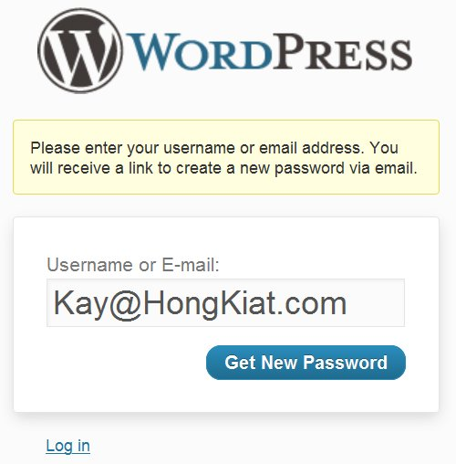 Lost Password - 10 Most Common WordPress Errors (+Solutions)