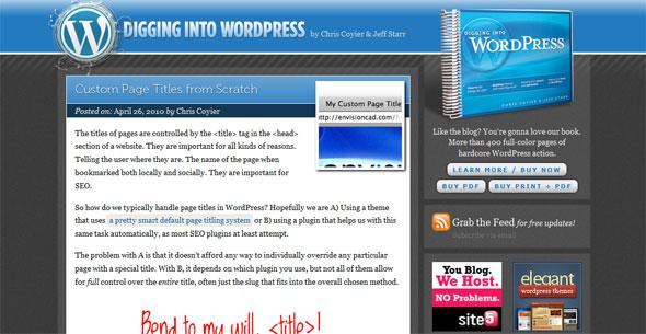 wordpress tutorials digwp