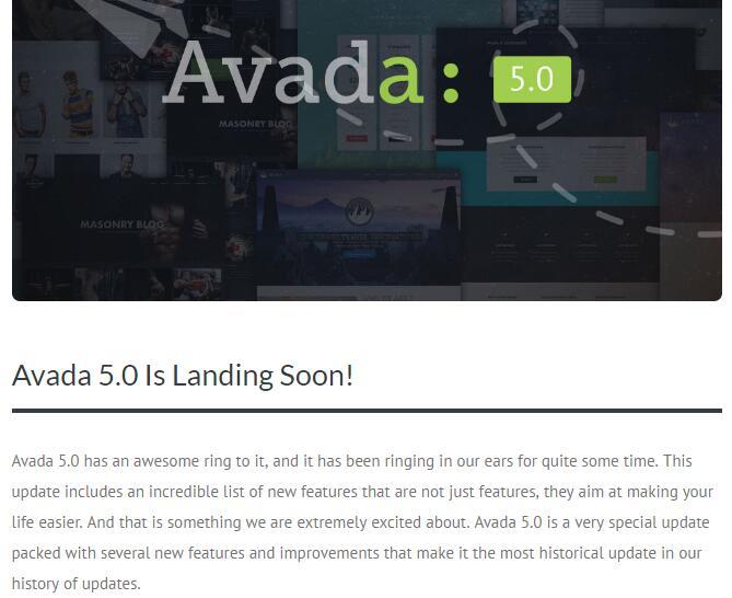 Avada汉化版更新至v4.0.3
