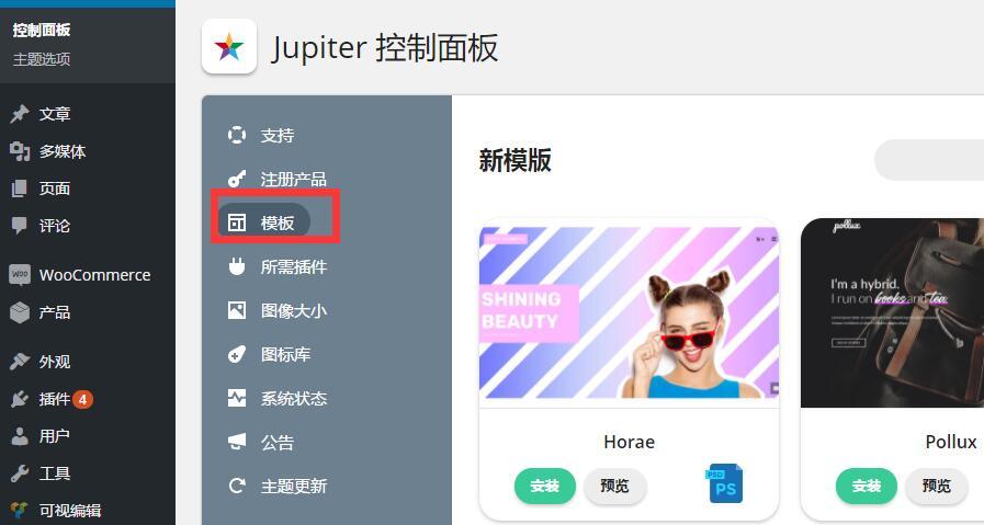 Jupiter v5.9.5汉化版导入演示数据方法