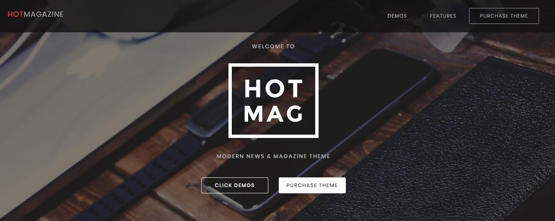 Hotmagazine v2.2.0- 新闻&杂志WordPress主题