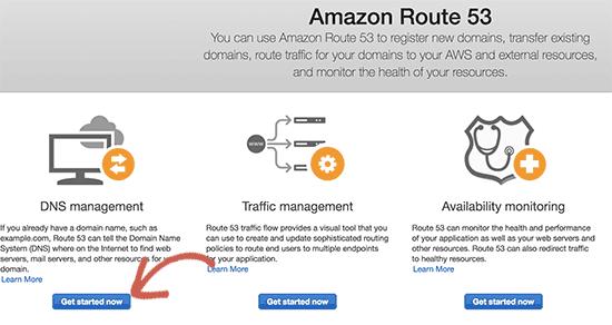 开始使用DNS管理