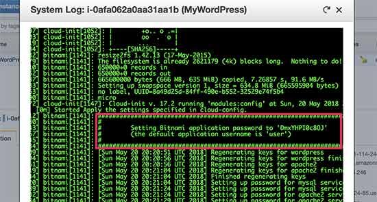 复制你的WordPress密码