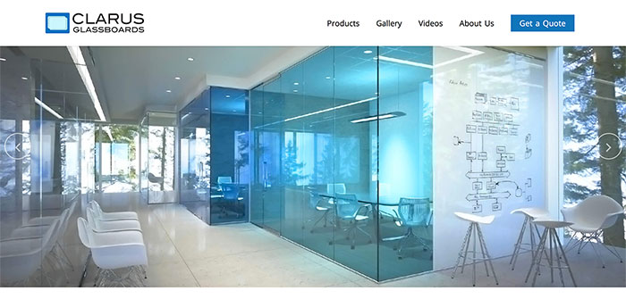 Clarus Glass Boards
