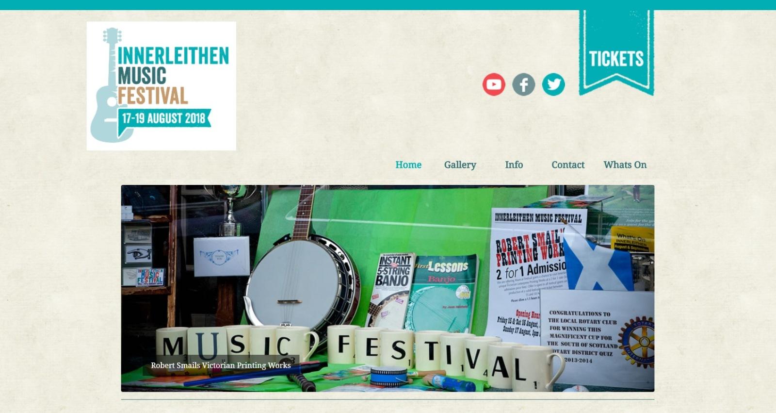 Innerleithen Music festival