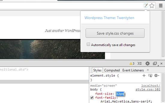 WordPress风格编辑器