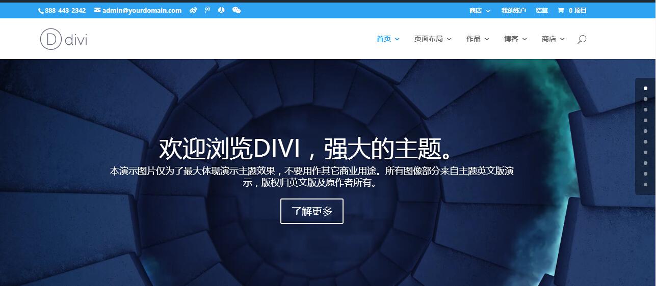 Divi汉化版更新至v4.5.5