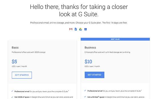 G Suite入门