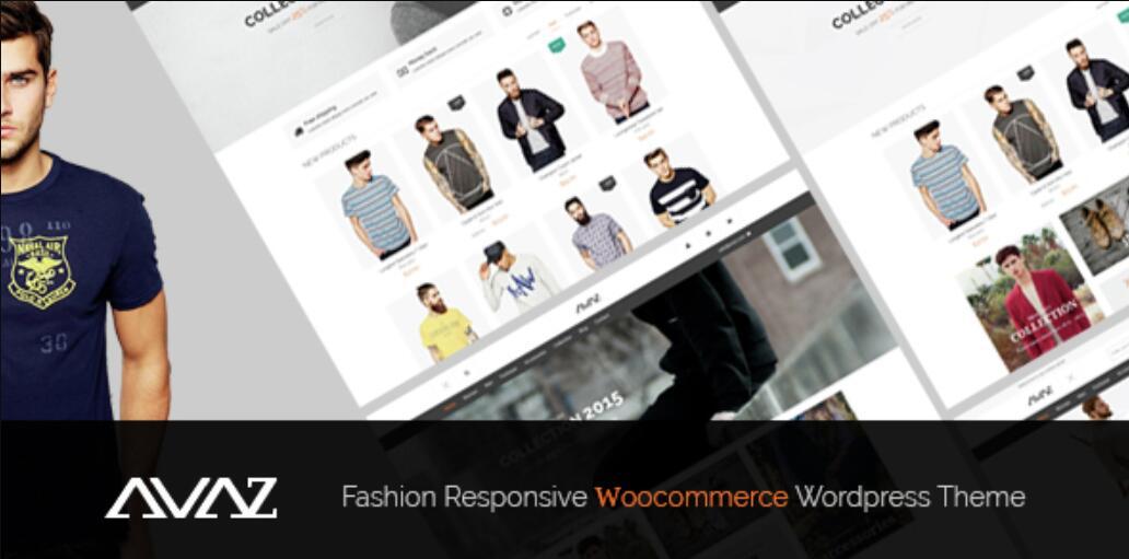 Avaz v2.2 – 时尚自适应WooCommerce WordPress主题