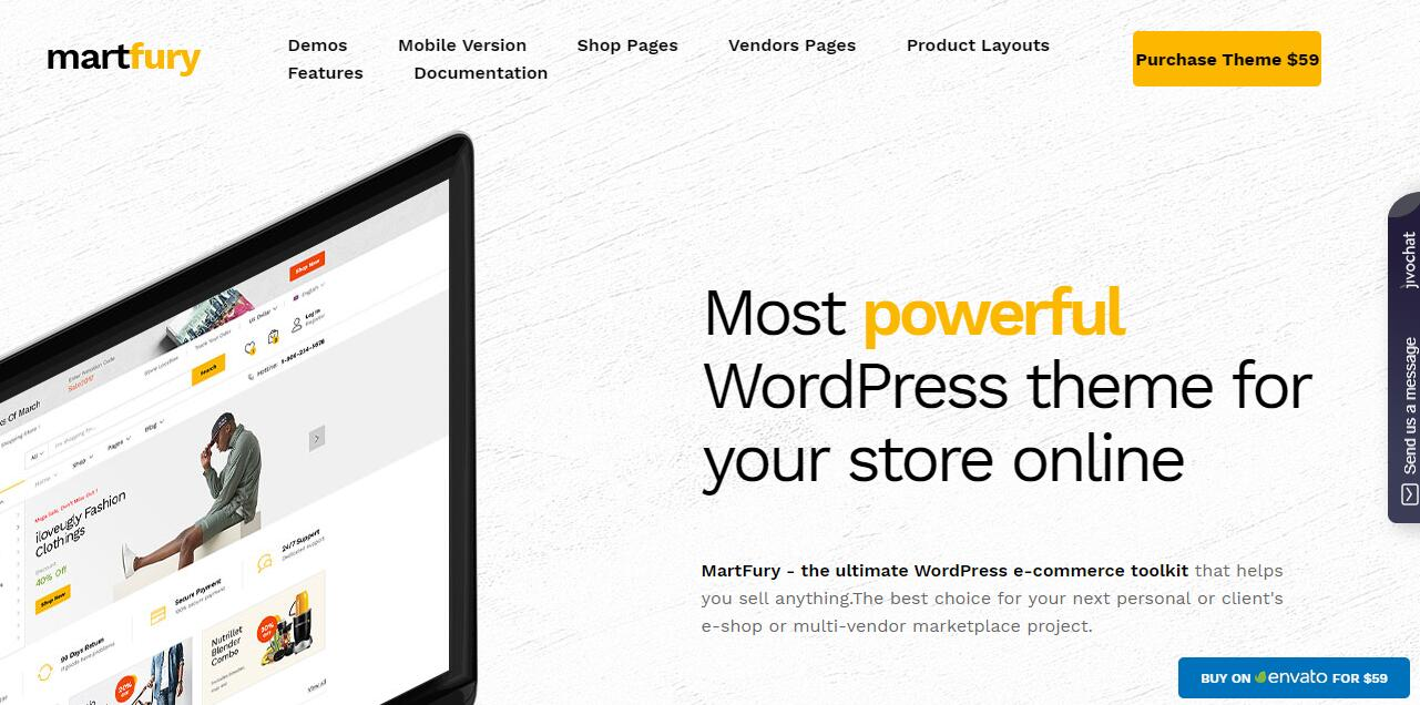 Martfury v1.5.7 – WooCommerce市场WordPress主题