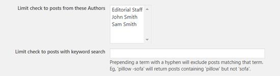 选择作者在WordPress中安排帖子