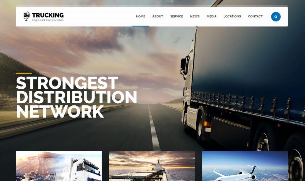 Trucking v1.7 – 物流和运输WordPress主题