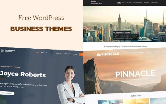 5个最佳免费WordPress商业主题
