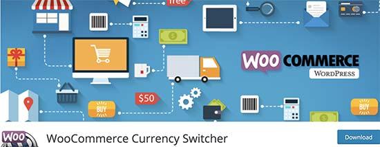 WooCommerce货币切换器