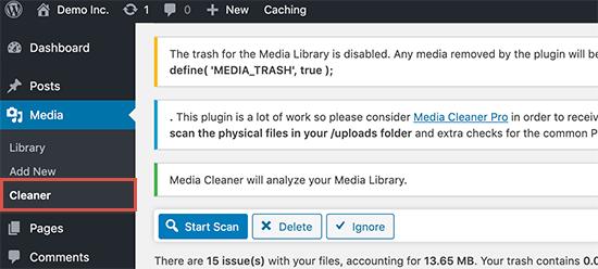 如何清理您的WordPress媒体库
