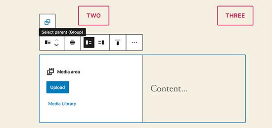 在WordPress 5.5中移动块