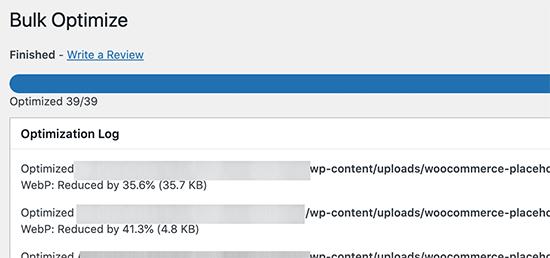 WebP图像转换完成