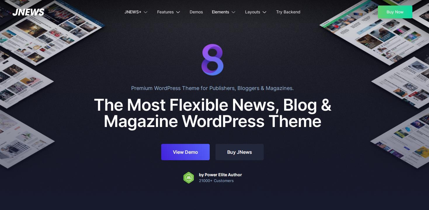 JNews v8.0.3-WordPress报纸杂志博客AMP主题
