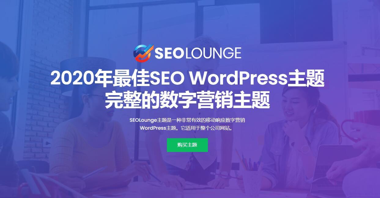 SEO Lounge v3.0.2-数字市场WordPress主题