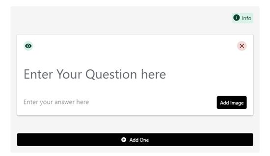 常见问题解答架构问答表格